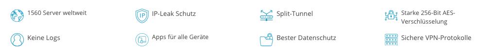 VPN Tarifen Funktionen