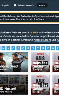 Serienstream.to: Kostenlos online Serien und Filme bei S.to sehen