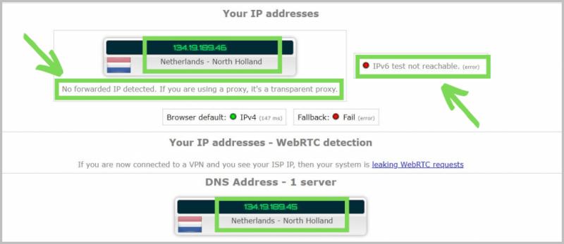 DNS-Leak-Protection