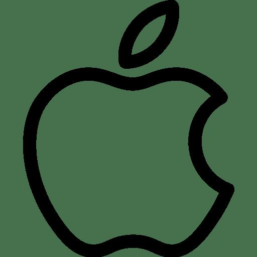 Black Logo Apple