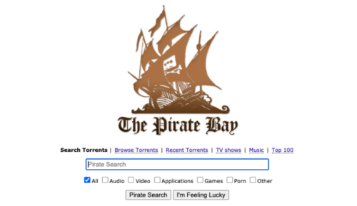 Torrents on PiratesBay