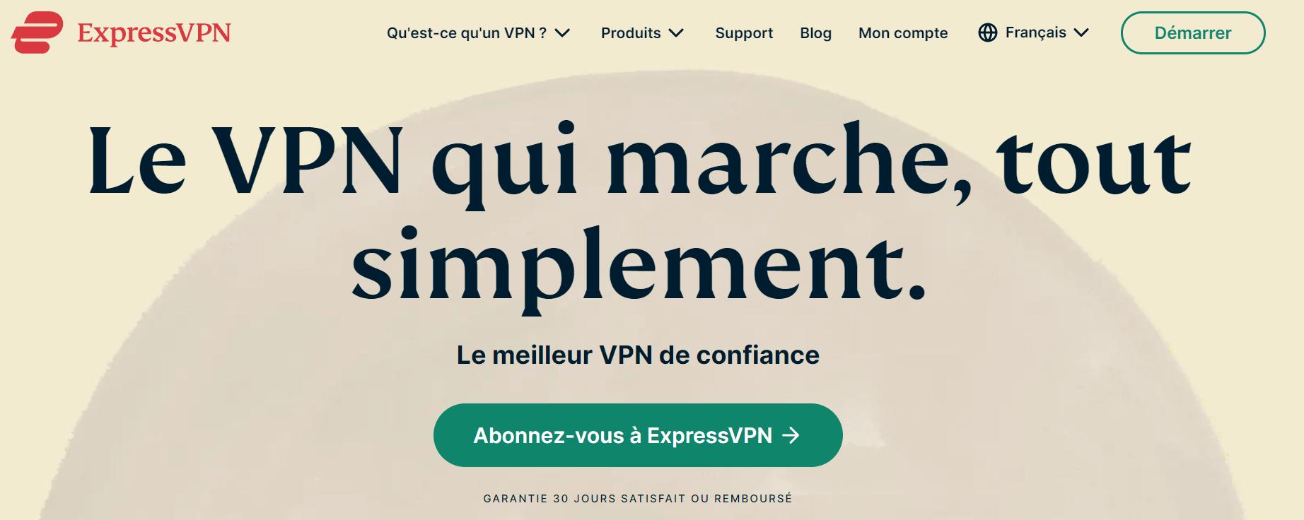 expressvpn fr