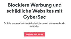 CyberSec NordVPN