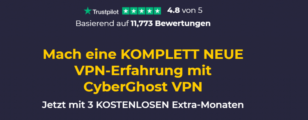 CyberGhost homepage de