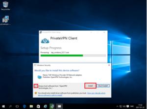 privatevpn windows