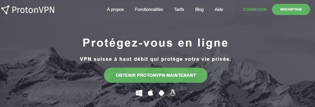 ProtonVPN fr