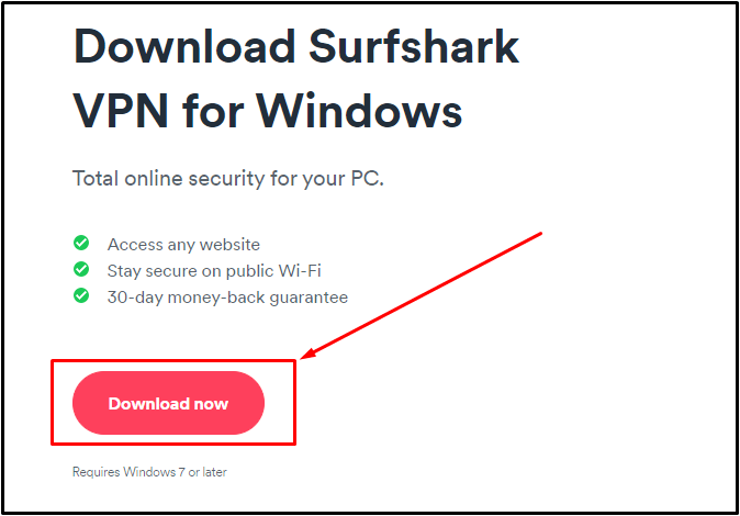 surfshark windows