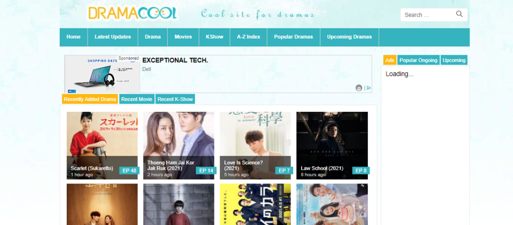 DramaCool banner