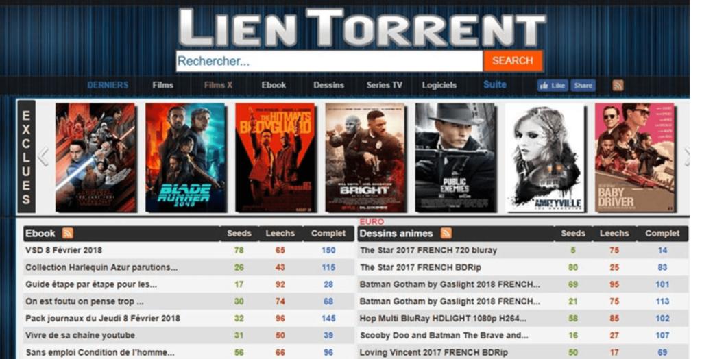 Lien Torrent banner