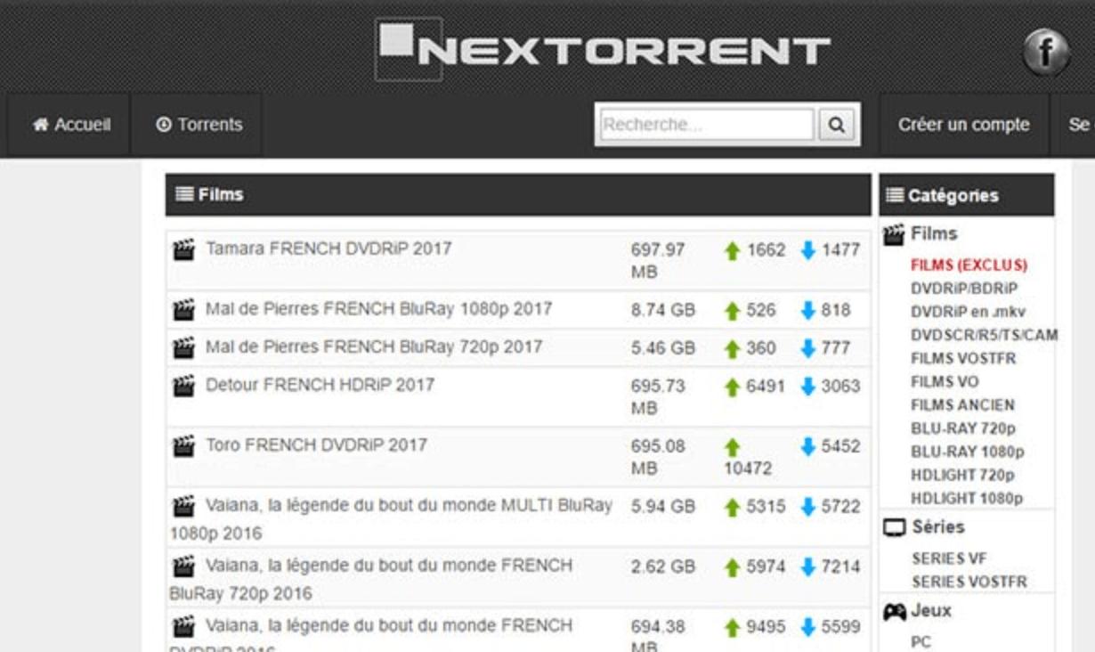 NexTorrent banner