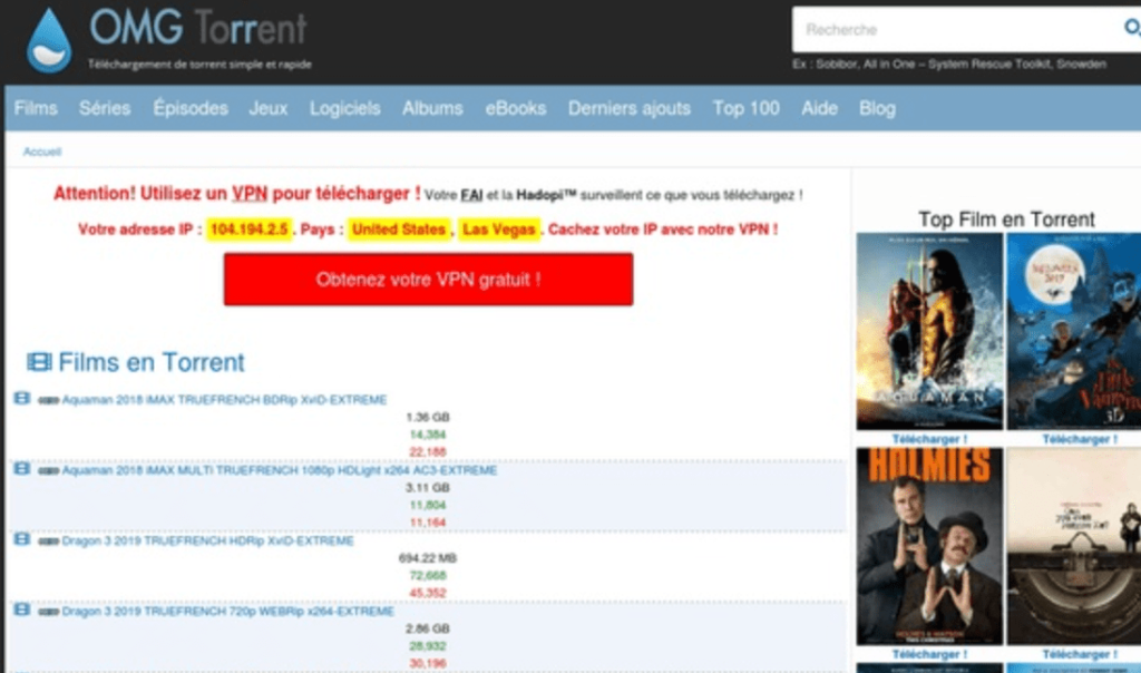 OMGTorrent banner