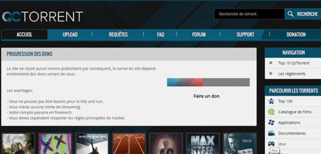 QcTorrent banner