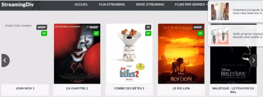 Streamingdivx.co banner