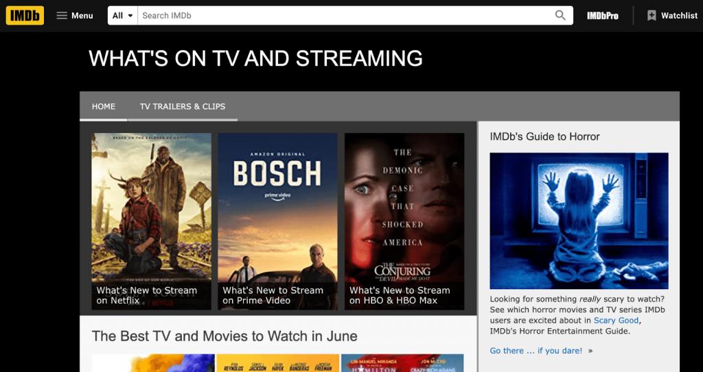IMDb banner
