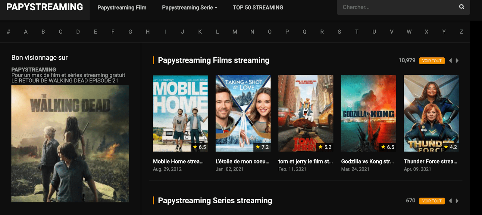 Papystreaming banner