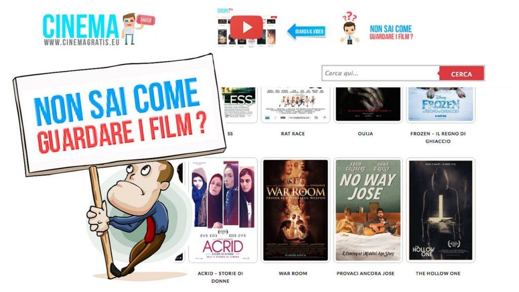 CinemaGratis homepage