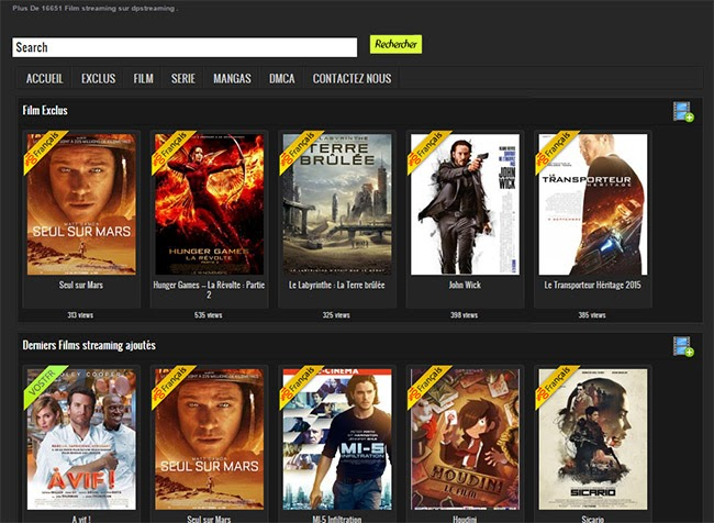 Film Senza Limiti homepage