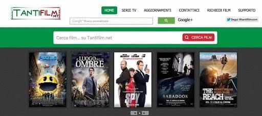 TantiFilm homepage
